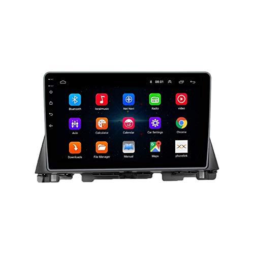 JIBO Android 10 Coche Estéreo Radio GPS Navegación Cabeza Unidad HD IPS Toque Pantalla Sat Nav Bluetooth DSP SWC para K5 2016-2018 Multimedia Jugador Vídeo Receptor