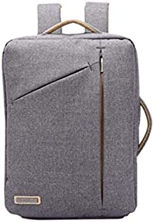 Multifunction Business simple Backpack Anti-Theft Slim Thin Laptop Bag 14inch Laptop Backpack for Men Women-Grey