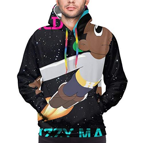 Skizzy Mars Mens Sweatshirt Autumn Winter Leisure Hoodie Black