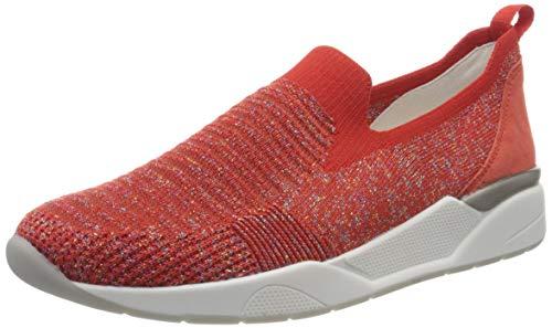 ara Damen L.A Slip On Sneaker, Rot (Candy, Corallo 05), 38.5 EU(5.5 UK)