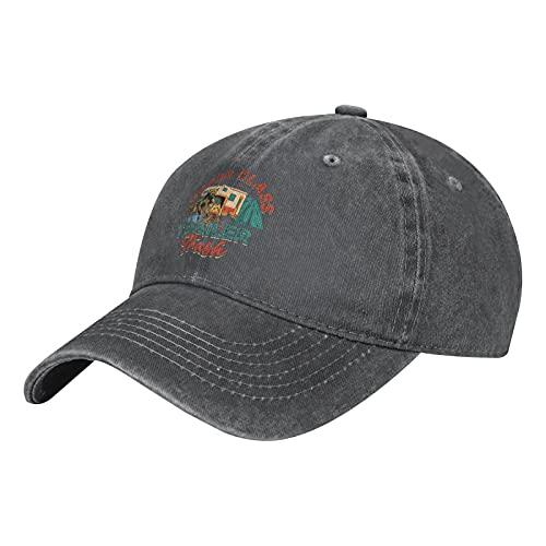 Gorra de béisbol lavable de algodón para remolque, de clase superior, para hombre y mujer