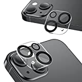 NIMASO カメラフィルム iPhone13 mini / iPhone13 用 カメラカバー カメラ レンズ 保護カバー 全面保護 黒縁取り 露出オーバー防止 2枚セット NCM21H290