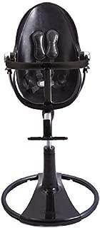 Bloom Fresco Chrome Contemporary Chair Frame - Black Base