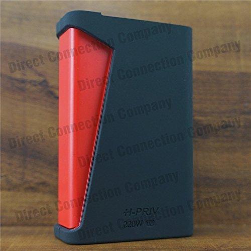 Silicone Case for SMOK H-PRIV 220W TC MODSHIELD BYJOJO HPRIV H PRIV Skin Sleeve Cover Wrap (Black)