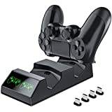 Achieer PS4 Controller Charger, Dual USB...