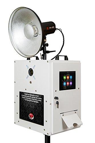 fexon® Photobooth Ready 1.1 Photo Booth, komplette Fotobox mit Drucker, einsatzfertig