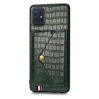 Samsung Galaxy M80s カバー Galaxy M80s ケース ギャラクシーA91 カバー Galaxy S10 Lite ケース 手帳型 [willo]お洒落な クロコダイルの皮柄 高級PUレザー ケース カード収納 財布型 カバー 滑り防止 全面保護カバー 携帯ケース