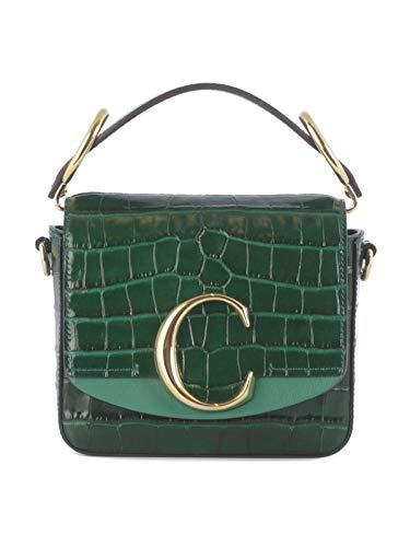 Luxe Mode | Chloé Womens CHC19US193A873H0 Groene Handtas |