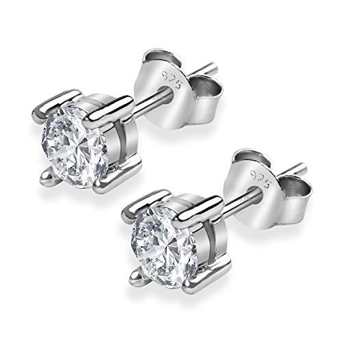 Bella & Jolie Swarovski Ohrring aus 925 Sterling Silber – Eleganter Ohrstecker für die moderne Frau