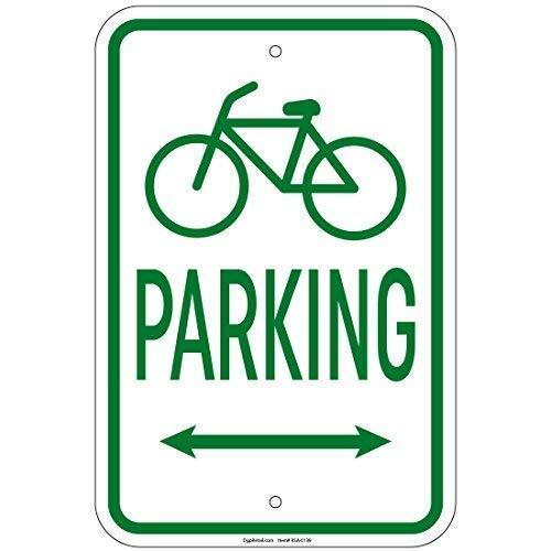 HONGXIN Cartel vintage de metal para estacionamiento de bicicletas, para casa, bar, bar, garaje, decoración, regalos, banda, cerveza, huevos, café, supermercado, granja, jardín, dormitorio