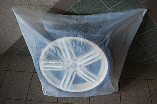SW-Trade Germany 100 Reifentaschen passend für Reifen bis 23 Zoll Reifentüten Reifensäcke Reifen Schutz Reifensack Reifenschutzhülle biologisch Abbaubar