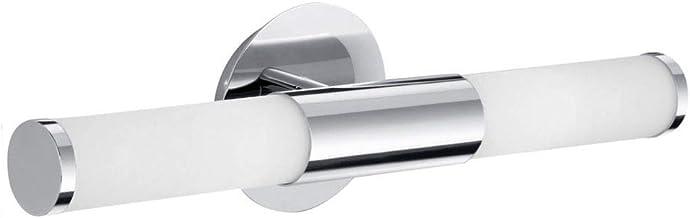 klassiek tijdloos IP44 badkamerlamp E14 wit chroom glas staal