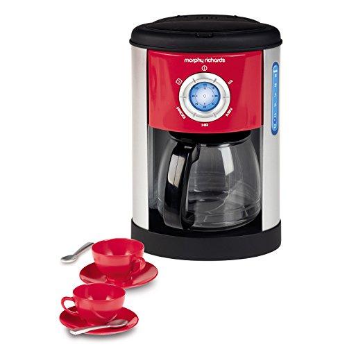Kaffeemaschine originalgetreue Morphy Richards Nachbildung Tassen inklusive • Kinder Spielzeugküche Zubehör Spielzeug Küche Gerät Kaffeekocher