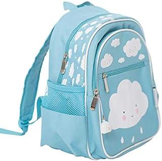 A Little Lovely Company BGBL004 - Mochila Infantil Nube, Azul