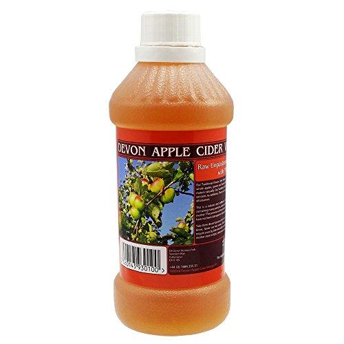 Vinaigre de cidre de pomme avec mère - Brut et naturel - 547 ml