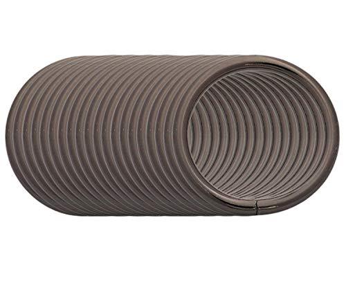 BIKICOCO 3.2 cm Hebillas de bucle redondo con conector de monedero con junta tórica de metal, sin soldar, para bolsos, collares, monederos y cordones, Gunmetal, 20 piezas