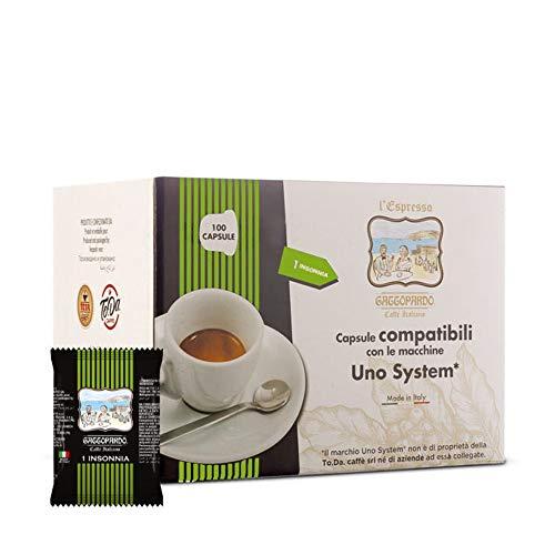 UNO System 400 capsule Caffè Insonnia Gattopardo