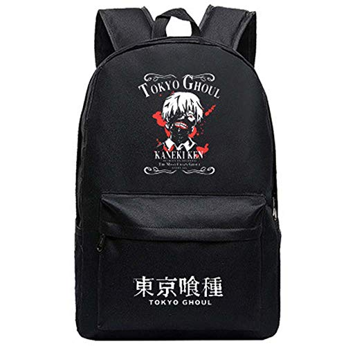 Anime Tokyo Ghoul Canvas Backpacks Unisex Cartoon Bags Cool Backpacks Double Shoulder Bag