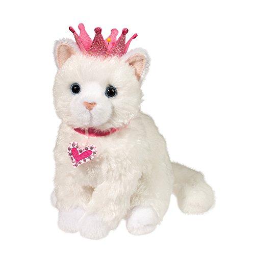 Cuddle Toys 1547Duchess WHITE CAT Katze weiß mit Krone Kuscheltier Plüschtier Stofftier Plüsch Spielzeug