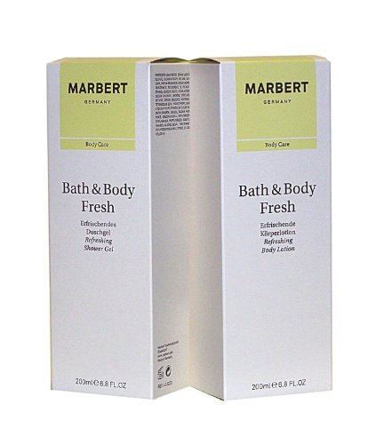 MARBERT GERMANY Bath & Body FRESH 2 tlg. Setangebot: Shower Gel 200 ml + Body Lotion 200 ml