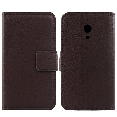 Gukas Design Echt Leder Tasche Für Umidigi C2 5