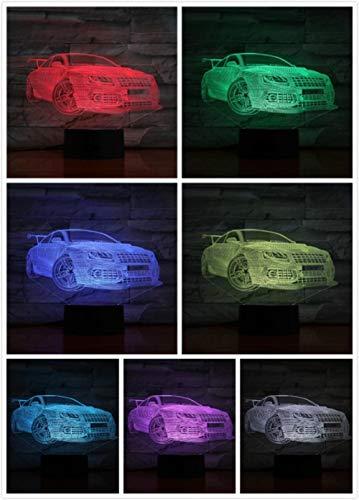 Nachtlampje Stoere En Stevige Auto-touch Klein Nachtlampje 7 Kleuren Touch Optische Foto Tafel Decoratie Lamp, Geschikt Voor Slaapkamer Bar Sfeerlamp
