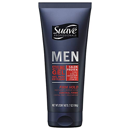 Suave Professionals Men's Styling Gel, Firm Hold, 7 oz, 2 pk