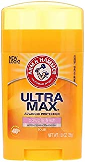 Arm & Hammer, UltraMax, Antiperspirant Solid Deodorant, POWDER Fresh, 1.0 oz (28 g)
