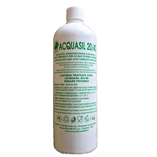 AcquaSIL 20/40® Anticorrosivo antincrostante per MiniDOS e BravaDOS - 8 confezioni