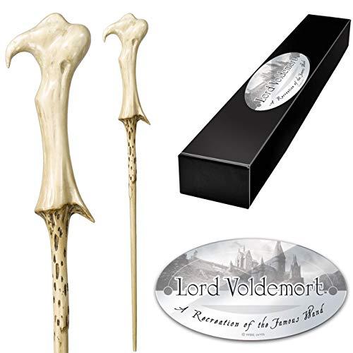 The Noble Collection Lord Voldemort Varita de Personaje