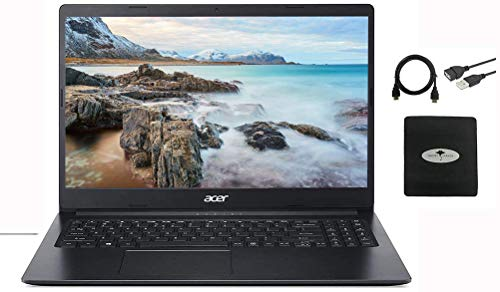 """2021 Acer Aspire 15.6"""" FHD IPS Laptop Business and Student, Intel Celeron N4020(up to 2.8GHz), 4GB RAM, 64GB eMMC, USB-C, Up to 10 Hours, Google Classroom, Win 10 S +Ghost Manta Accessories"""