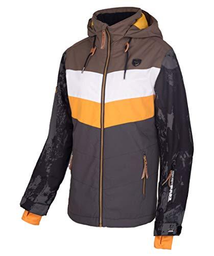 Rehall Damen Skijacke mit Kapuze Hester R Regular Fit Dunkelbraun (147) XL