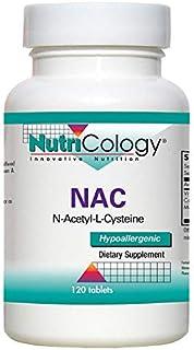 NutriCology NAC N-Acetyl-L-Cysteine 120 Tablets