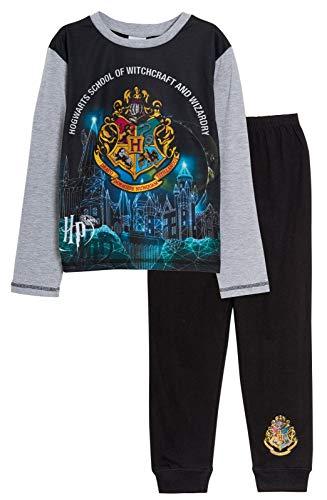 Harry Potter 'Hogwarts' Pyjamas Boys Pjs - Sizes 5-12 Years