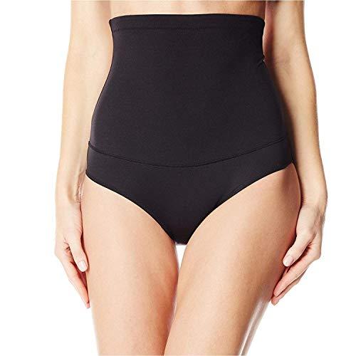 Flexees womens Fat Free Dressing Hi Waist shapewear briefs, Black, XX-Large US