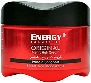 Energy Cosmetics Men's Hair Cream - 250 ml - 01172636110142AB