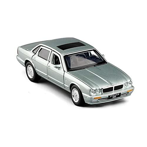 Vehículo a escala 1:32 para Jaguar XJ6 clásico modelo fundido a presión coche de juguete de aleación de simulación de sonido de luz juguetes de retroceso vehículo para regalos de niños ( Color : D )