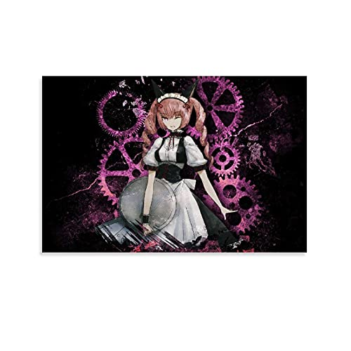 aokia Faris Nyannyan Steins Gate Anime Room Aesthetics Poster Illustration Poster Decorative Painting Canvas Wall Art Living Room Posters Bedroom Painting 08x12inch(20x30cm)