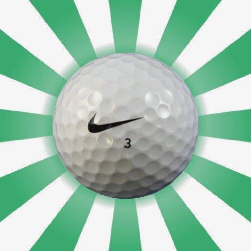 120x Nike mezclar–a/b grado usado pelotas de lago de Golf | 10docena | Gator Golf Balls Ltd