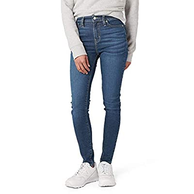 Signature by Levi Strauss & Co. Gold Label Juniors High Rise Jeggings, Night Out, 9