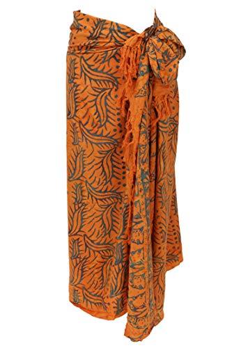 Guru-Shop Bali Batik Sarong, Wandbehang, Wickelrock, Sarongkleid, Strand Tuch, Herren/Damen, Design 40, Synthetisch, Size:One Size, 160x100 cm, Sarongs, Strandtücher Alternative Bekleidung