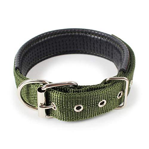 Hebillas para collares de perros Collar de mascotas correa correa de perro ajustable collar de nylon duradero perrito personalizado cuello gato pequeño mediano grande perros gato 5size collar de perro