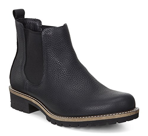 Ecco Elaine 244603 Damen Chelsea Kurzschaft Stiefel, schwarz (black 1001), 39