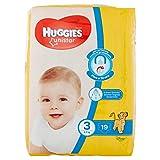 Huggies Unistar Pannolini, Taglia 3 (4 - 9 kg), Confezione da 19 pannolini