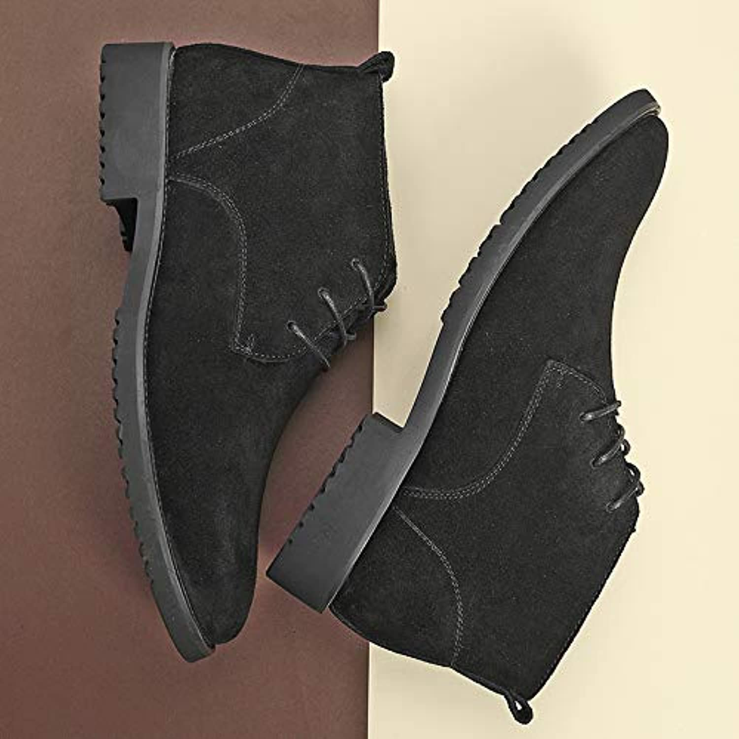 LOVDRAM Boots Men's Autumn And Winter Martin Boots Men'S High shoes Wild Youth Sandals