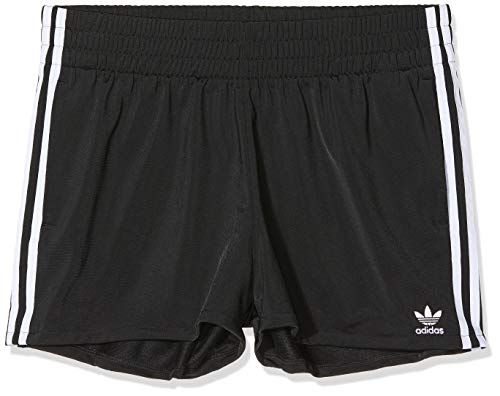 adidas Damen 3 STR Sport Shorts, Black/White, 40
