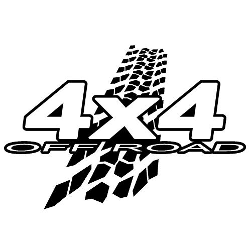 Printer Corner sticker 4 x 4 Off Road