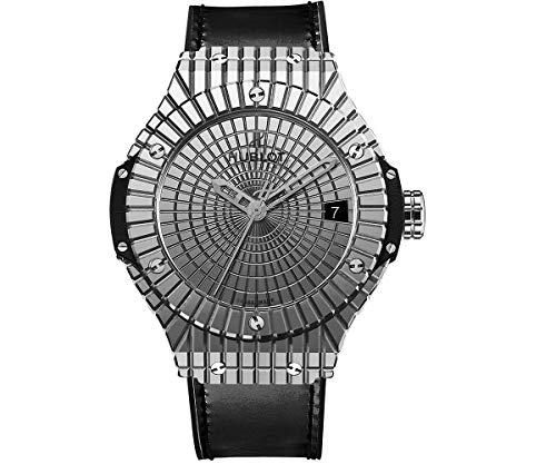 Hublot Big Bang Acier Caviar Cadran Acier Inoxydable Homme Montre 346.SX.0870.VR