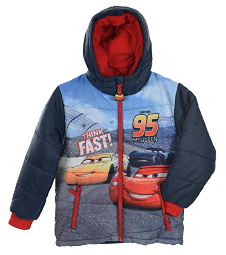 Disney Cars Jungen Daunenjacken Mit Kapuze