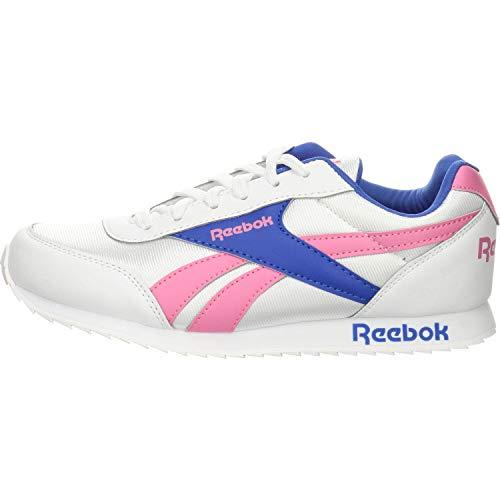 Reebok Royal Cljog 2, Basket, Blanc/Pospnk/Humblu, 31.5 EU